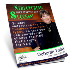FREE Report-- Structuring Your Business For Success